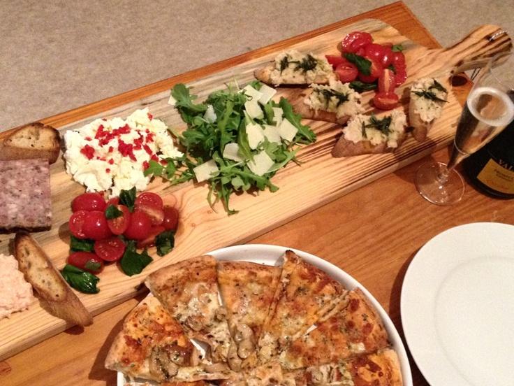 Good Dinner Party Ideas Jamie Oliver Part - 8: Jamieu0027s Italian Anti-pasti Platter