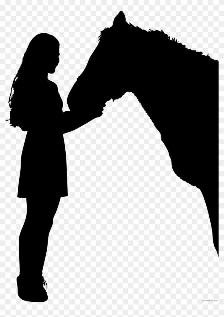 Horse Silhouette Animal Free Black White Clipart Images Horse And Person Silhouette | Person silhouette, Horse silhouette, Silhouette images