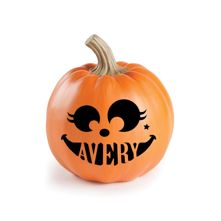 look at this pumpkin face iii personalized decor on today - Personalized Halloween Decorations