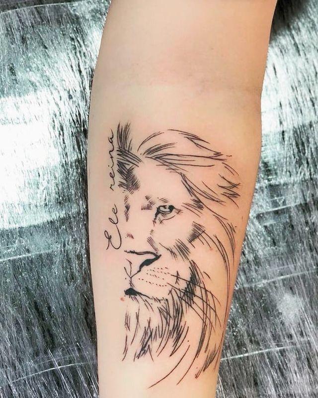 tatuagem de leão imagens) Yeshua tatuagem, Tatuagem