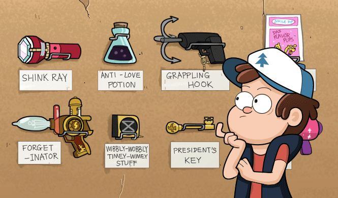 If you could have any item from gravity falls! Shrink ray no doubt