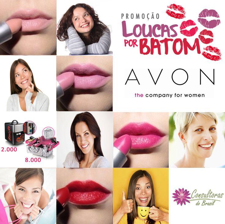 Geeente, não deixem de participar dessa promoção. Fale com uma Consultora Avon. São 8 mil Maletas de Maquiagem e 2 mil Mini Geladeiras. Fale com uma consultora Avon  #consultorasdobrasil #avonbrasil #avon #maquiagemavon #avonconsultora #loucasporbatom #batom #amobatom #avonmaquiagem
