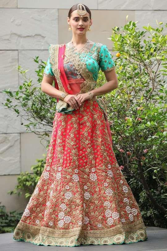 bf2bdffa216 Bridal lehenga choli online - buy graceful designer lehenga from mohey   lehenga  lehnga  lehanga  manyavar