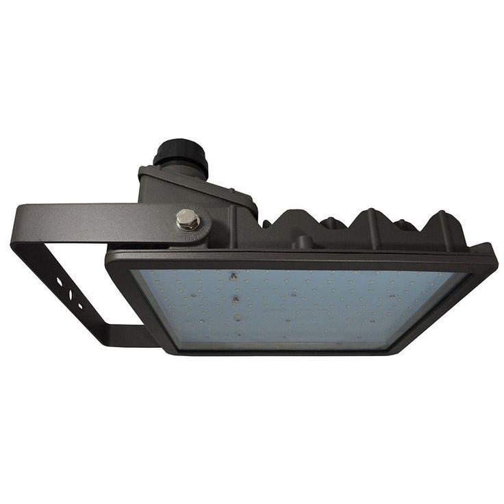 174 Watt Bronze Integrated LED Outdoor Flood Light Yoke Mount
