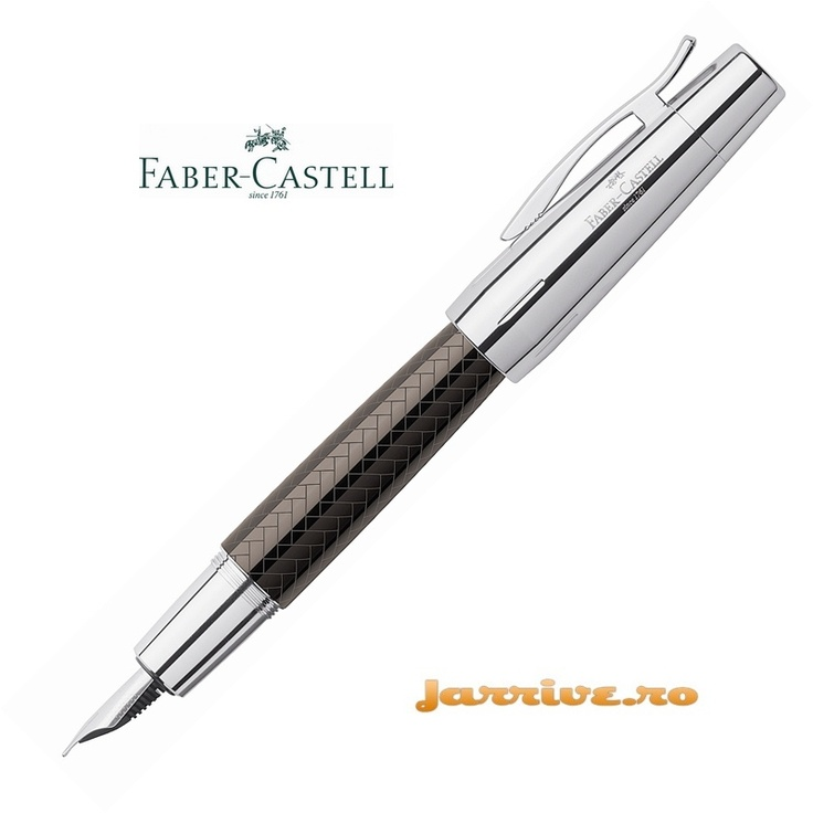 Faber-Castell e-motion Fountain Pen Parquet Brown 148280
