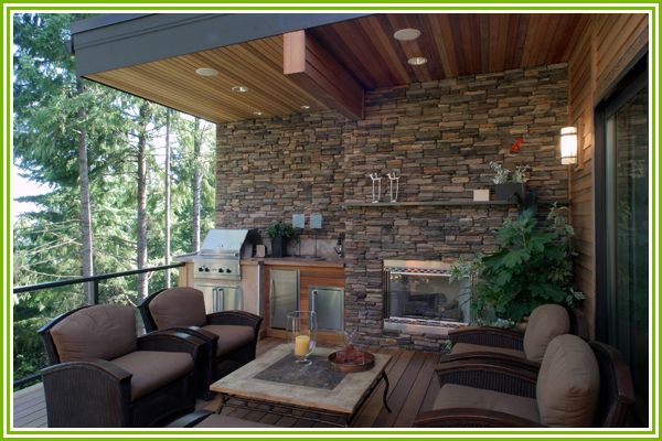 Small Outdoor Living Spaces Ideas | Easy ways to create multi-season small outdoor living space