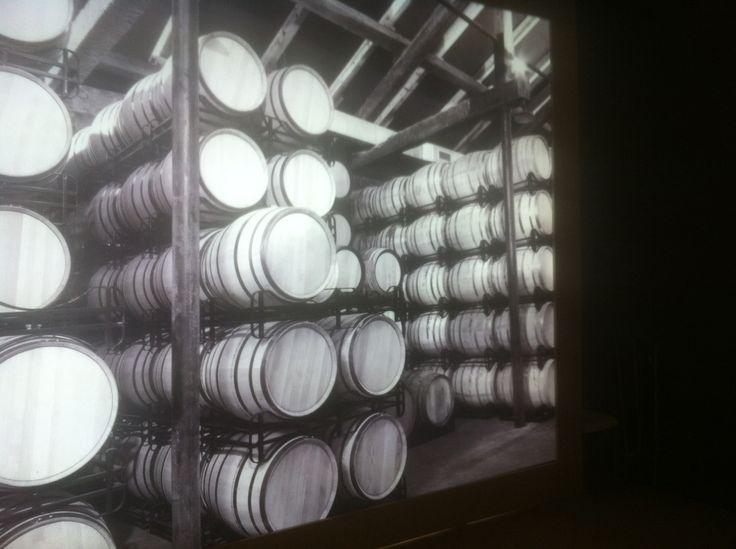 The cellar in black & white