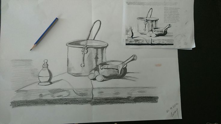 Karakalem çalışmaları 2016