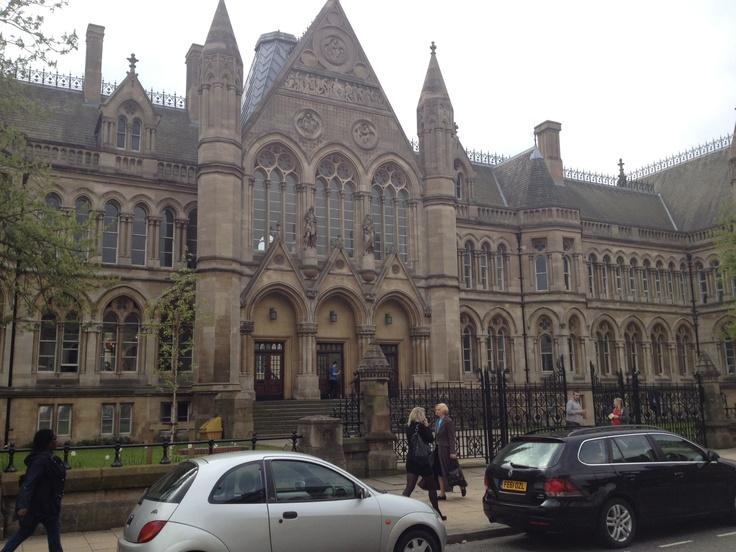 A beautiful building at Nottingham Trent University.