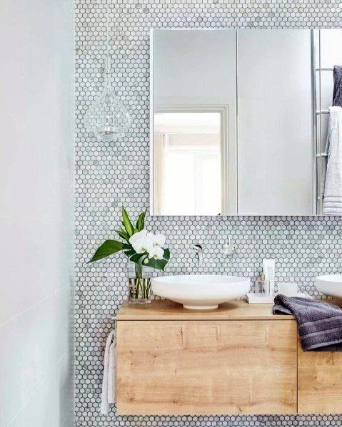 Top 60 besten grauen Badezimmer Ideen – Interior Design Inspiration