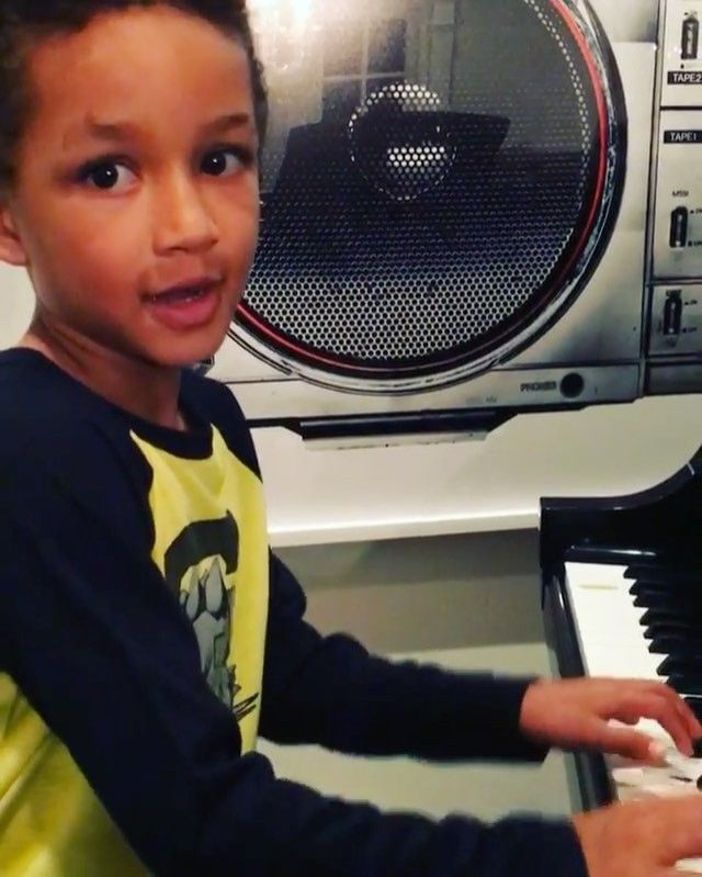 "Because of Them, We Can on Instagram: ""You have to see Swizz Beatz and Alicia Keys' 6-year-old son perform his first original song!  A couple of months ago, the world found out that then 5-year-old Egypt produced one of the tracks on Kendrick Lamar's latest album, 'Untitled Unmastered'. Now, he has written his first song, 'Super-boy'. On top of Egypt's incredible piano skills, what makes this moment even more special is that his mother Alicia wrote a song called &..."