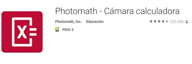 Crea y aprende con Laura: PhotoMath, la #App que resuelve tus problemas mate...