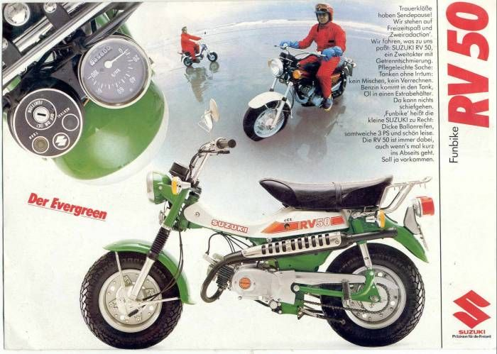 Moped Photo Gallery - 1977 Suzuki RV50