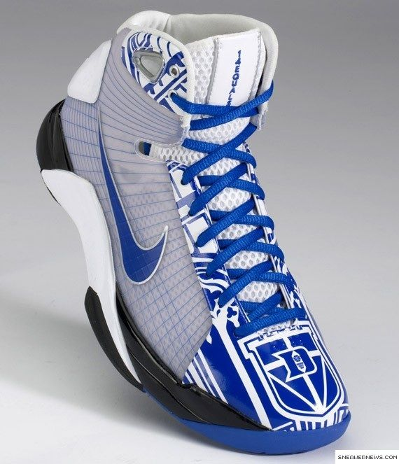 Duke basketball shoes......... even though they're blue :)