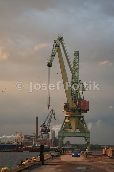 Port crane, Kotka, Finland