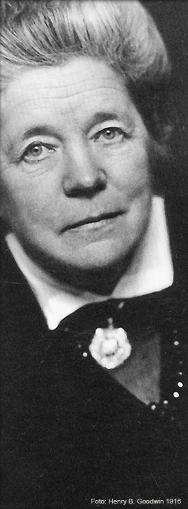 Selma Lagerlöf. Foto: Henry B. Goodwin 1916