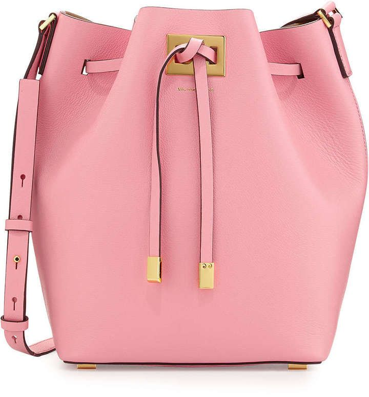 Michael Kors Drawstring Messenger Bag