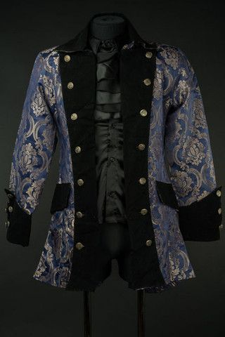 Royal Blue Pirate Jacket. https://www.galleryserpentine.com/collections/mens-jackets-coats