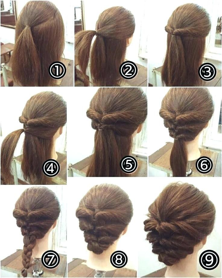 Updo Hairstyles For Long Hair Unique Easy Hairstyles Long Hair Easy Hairstyles For Long H Up Dos For Medium Hair Hair Tutorials Easy Easy Updos For Medium Hair