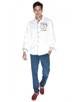 Giorgio di mare camisa |white