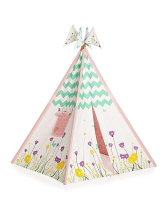Girls\' Canvas Play Tent by Pacific Play Tents at Neiman Marcus.