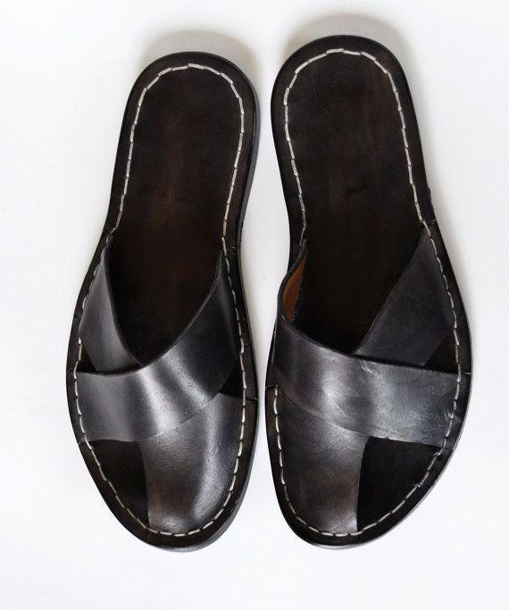Black Friday Etsy  Sandals Men  Handmade in by MDesignWorkshop, €70.00