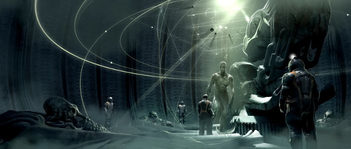Prometheus concept art. Engineering Prometheus - From Jon Spaihts to Damon Lindelof