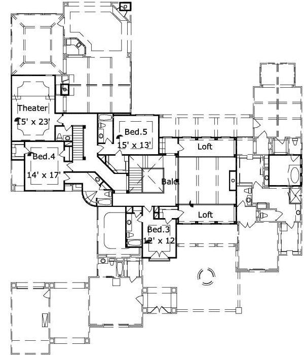 Best Dream Home Floor Plans Images On Pinterest Dream Homes