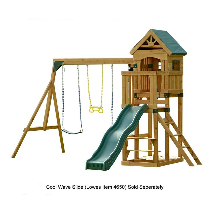 backyard wood swing sets lowes 1
