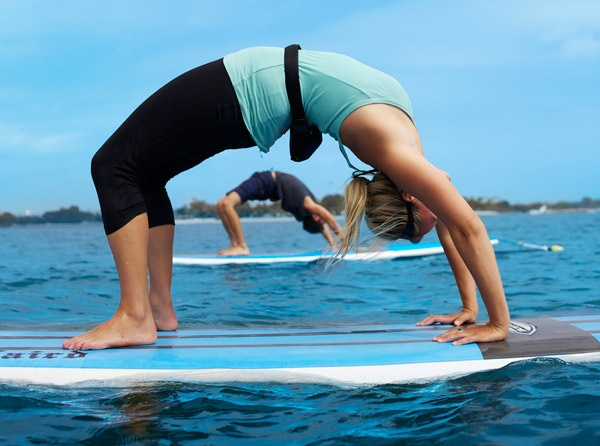 yoga on a paddleboardStandup Paddles Boards, Paddles Boards San Diego, Surfers Yoga, Yoga Fit, Paddles Boards Yoga, Surf Yoga, Yoga Mats, Health, Sandiego
