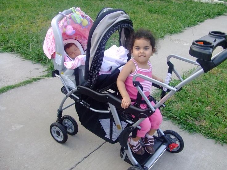sit and stand double stroller manual
