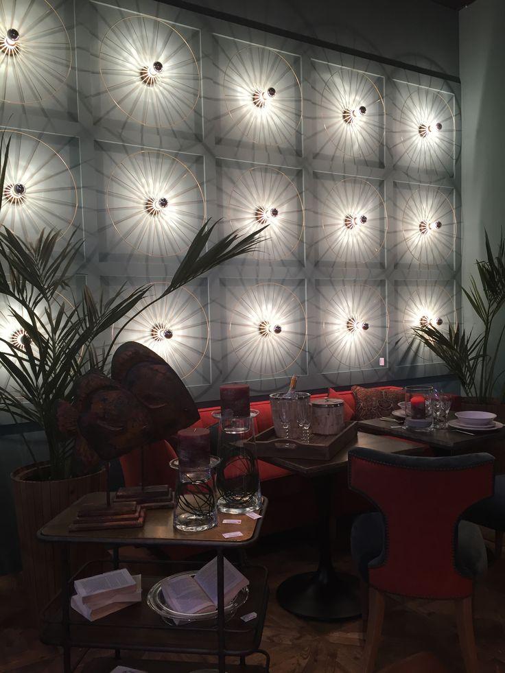 Дизайн интерьера, Мебель, Освещение Бар Ресторан Кафе Стена Малахитовый, бирюзовый Brucs  Interior Design, Furniture, Lighting Cafe Bar Restaurant Wall malachite by Brooks