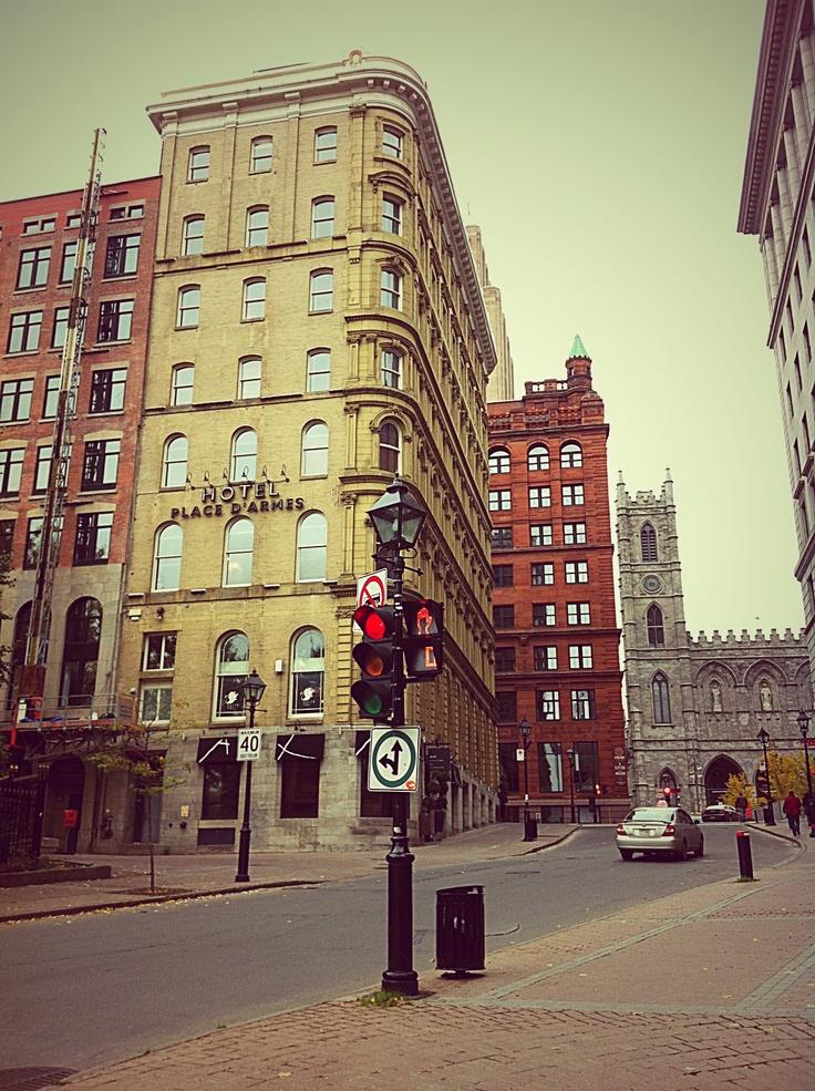 Place d'Armes, Montréal
