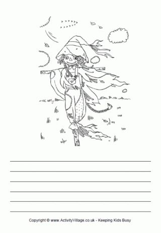 Scarecrow Story Paper