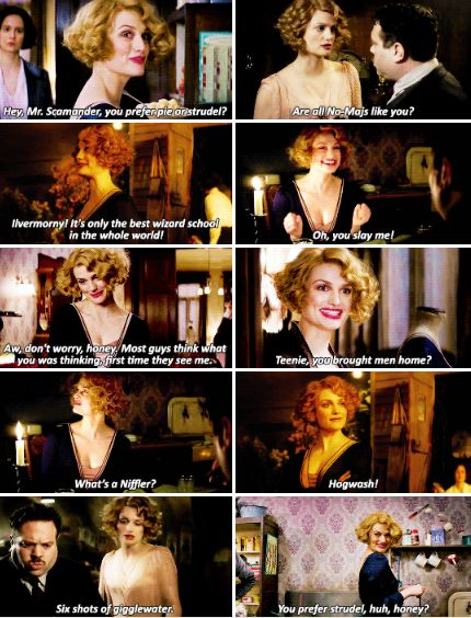 Fantastic Beasts - Queenie - People are easiest to read when they're hurting.