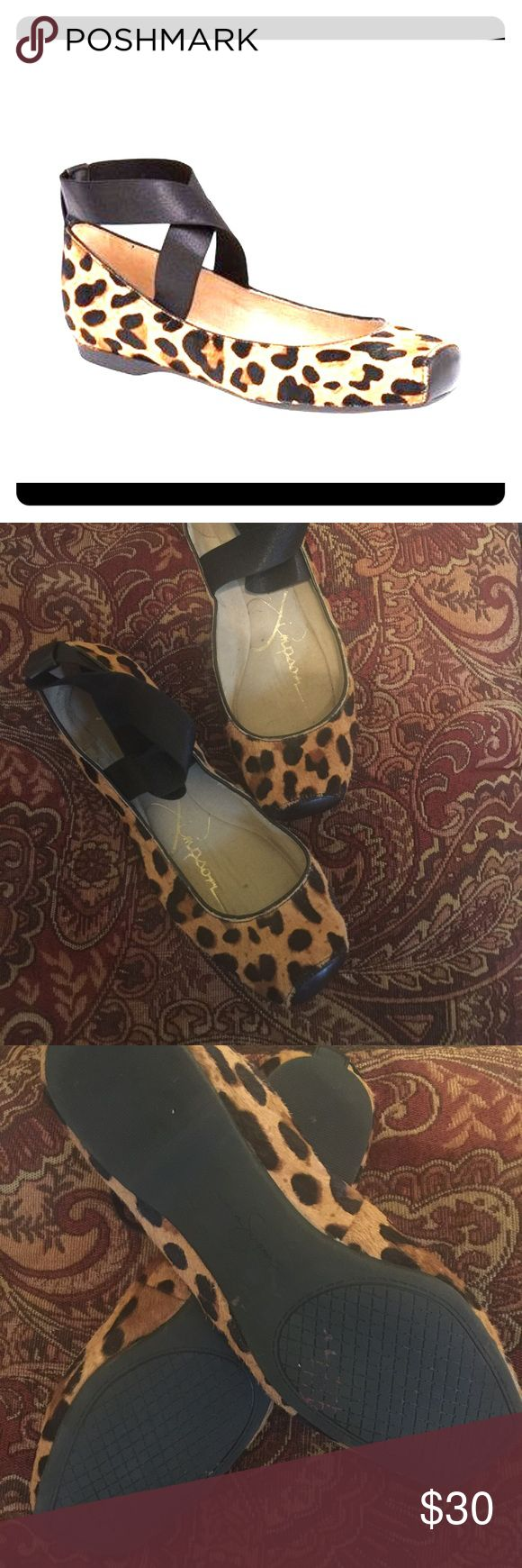 Jessica Simpson Ballet Flats These adorable flats will keep you in your toes!  The animal print is timeless and will be a staple wardrobe piece! Jessica Simpson Shoes Flats & Loafers