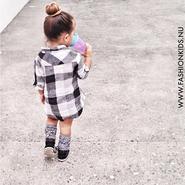 Baby flannel fashion