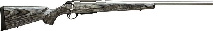 Provides the adventurous hunter with weather resistance, stability and pinpoint accuracy. T3 Laminated Stainless withstands demanding weather conditions with a free-floating, stainless steel barrel that is cold hammer-forged. The receiver, bolt and bolt handle are all made of stainless steel, providing even the most adventurous hunters with reliable stability and pinpoint accuracy. The T3 Laminated Stainless is the perfect hunting companion, no matter what the circumstances.