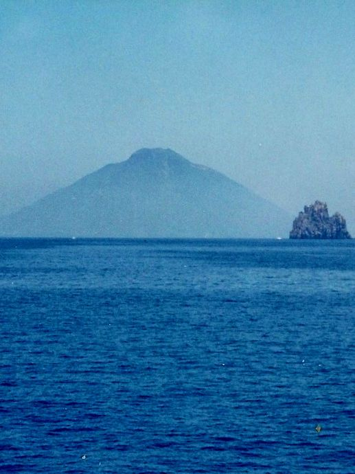 Going back to Salinas from Stromboli