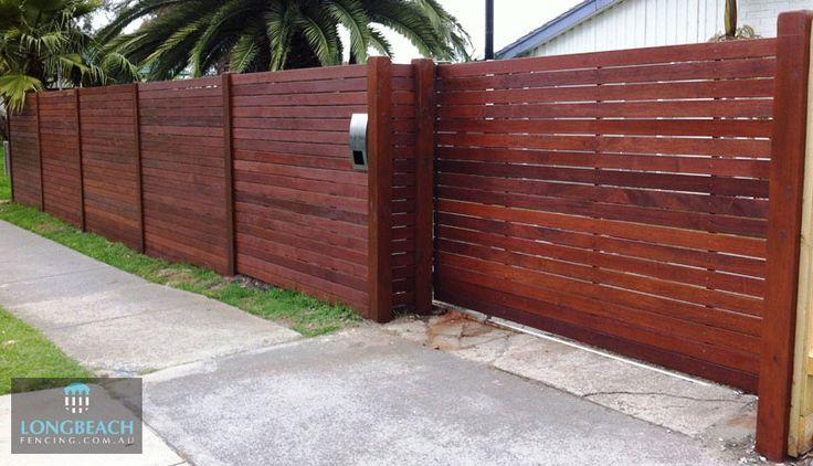 Merbau Fences Merbau Timber Feature Melbourne