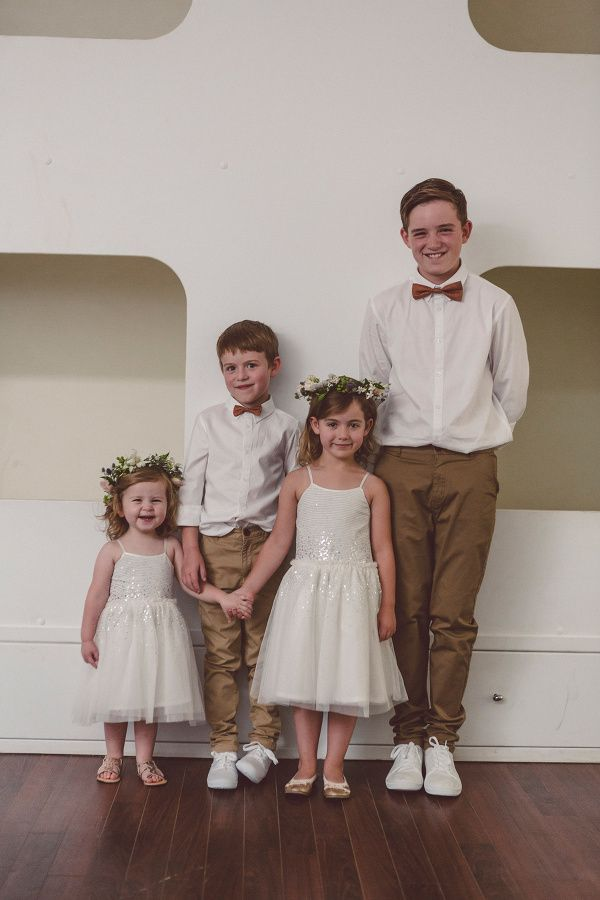 Flower girl circlets by Shady Fig Photographed by Red Berry Photography at Merribee