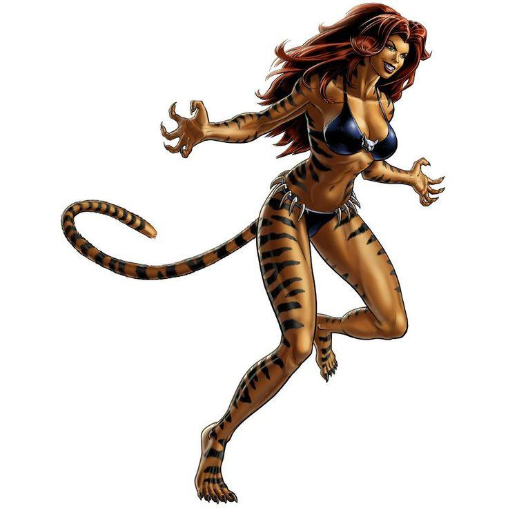 Tigra in Marvel: Avengers Alliance on Facebook!