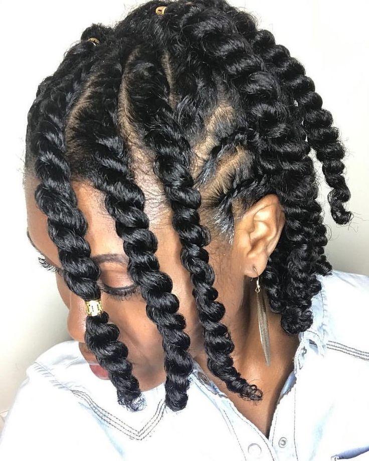 "Kinky Hair sur Instagram: ""#cornrowstyles #hairstyle #co …   – Hairstyles"