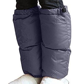 Amazon   パジャマ屋 羽毛だから、足元ぽかぽか ダウン レッグウォーマー【メンズ・レディース兼用】/ダークネイビー・フリーサイズ   靴下・タイツ 通販