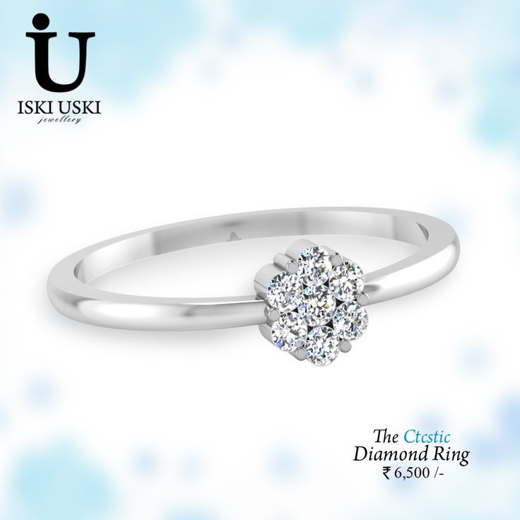 IskiUski Diamond Ring buy online with latest styles for daily-use, #solitaires, wedding, #engagement #ring.!!