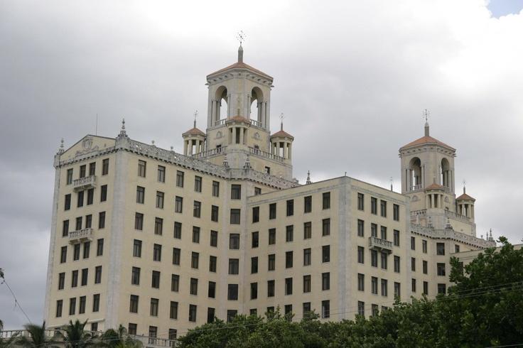 I found the original hotel, where The Godfather was filmed.
