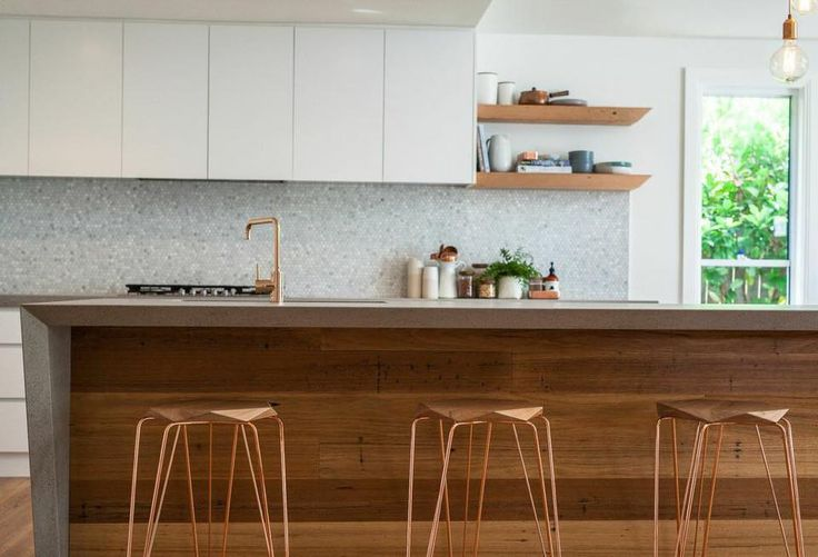 An amazing kitchen from Kyal & Kara from the Block 2014