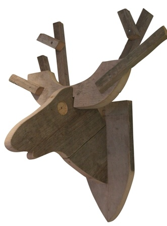 Hertenkop SteigerhoutVans, Fun For, Houten Hertenkop, De Kerst, Deer Head, For The, Hertenkop Steigerhout, Steigerhout Wood, Wood Pallets