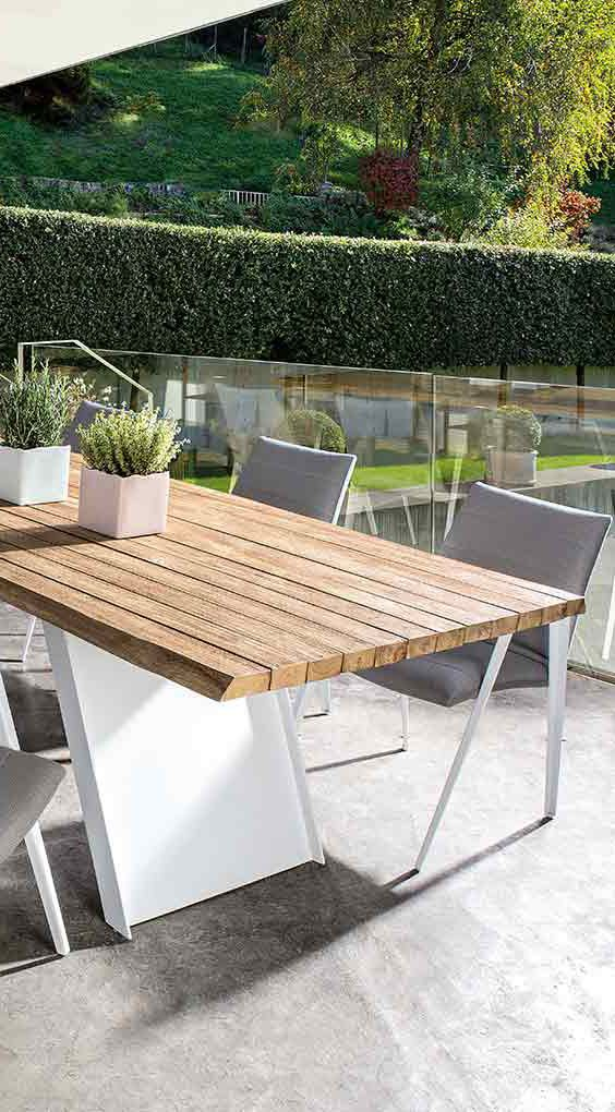 New Axor Gartentisch von Bizzotto der rustikale Gartensich besteht aus wundersch nem Teakholz Gartentische gibt us bei