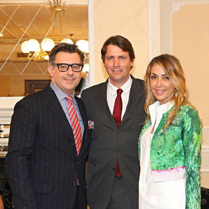 Gianluca Bauzano, Salvatore Ferragamo, Francesca Senette